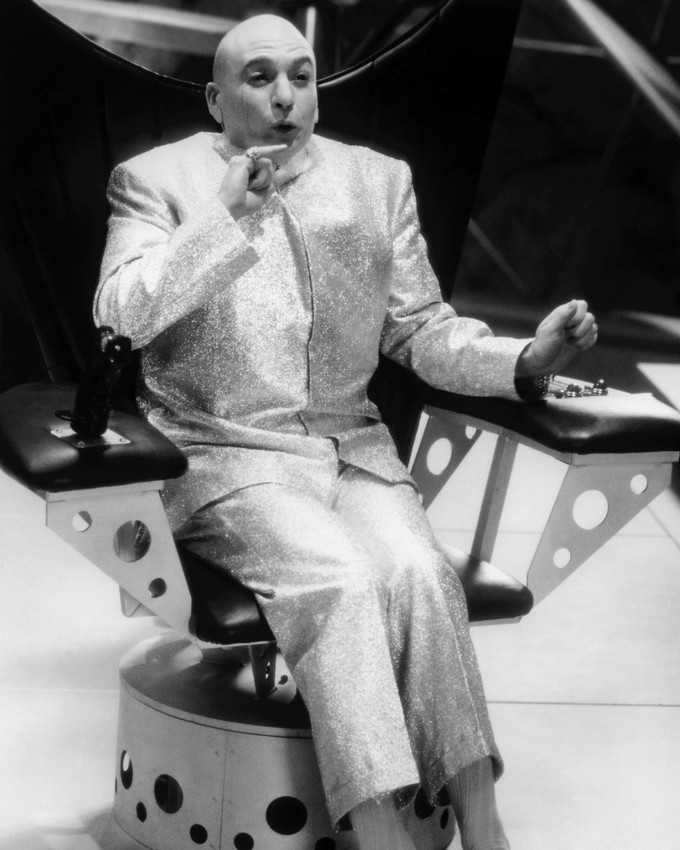 Evil Austin Powers Photo Print International Man Of Mystery Mike Myers As Dr