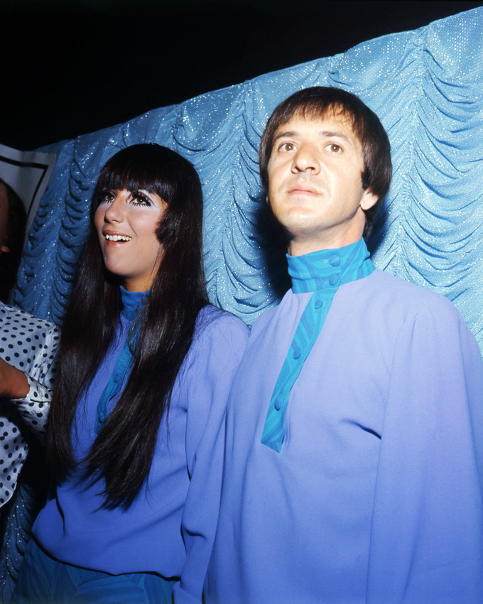 2d5a32c8e53 Image is loading Cher-Sonny-Bono-Portrait-In-Matching-Outfits-Backstage-
